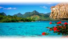 TAHITI - MOOREA - BORA BORA (Garden Pool Bungalow en Moorea)