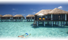 MALDIVAS: HOTEL VELASSARU (Water Bungalow Pool) (PC)