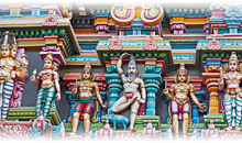 colores del sur de india - tour privado