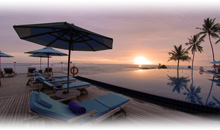 contrastes de dubai con maldivas (hotel anantara veli)