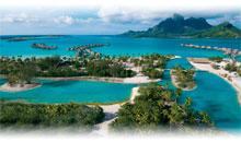 OFERTA TAHITI-BORA BORA (HTL LE MERIDIEN en Motu Overwater Bungalow)