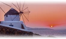 grecia: atenas con mykonos