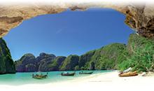bangkok - phi phi  - phuket