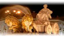 madrid, paris y paisaje italiano