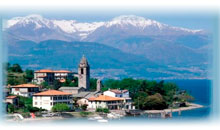 lagos italianos e italia bella