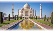 índia: triângulo dourado (com guia acompanhante em português)